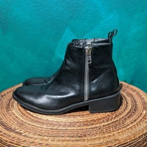 Urban outfitters vegan leather boots